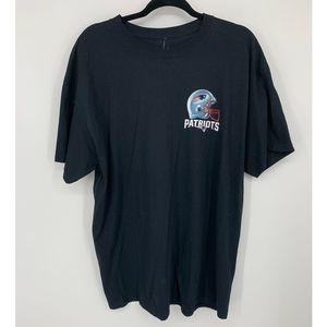 New New england patriots XL black t shirt